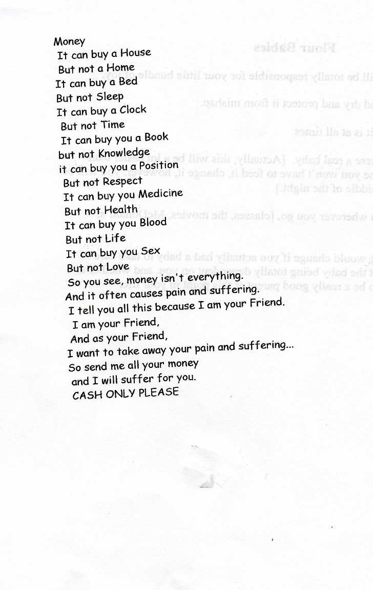 Funny Poems About School - 0425
