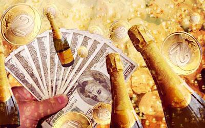 Muito alcool, dinheiro e idiotice