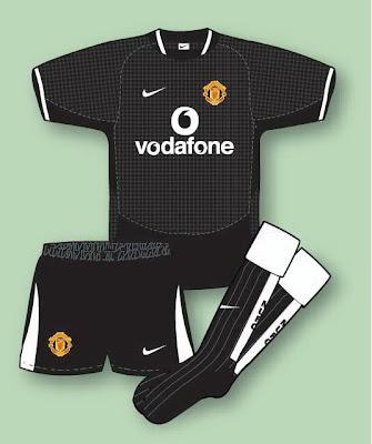 1d676461271 Manchester United Football Shirt History  Manchester United Kit 2003 ...