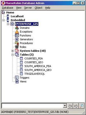TatukGIS Consulting: The TatukGIS Enterprise GIS Database