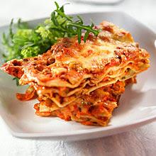 Lasagne à la sauce tomate