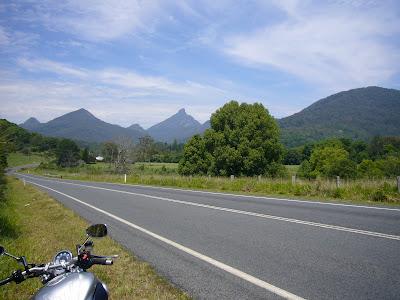 Good motorcycle roads Gold Coast - Uki