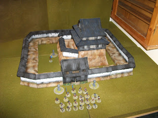 The Angry Lurker: 28mm Samurai Castle: My favourite piece of scenery