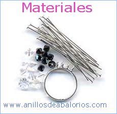 1ab21cca06ff Abalorios: Como hacer un anillo con piedras colgantes
