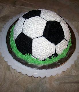 Kick Off Soccer Ball Cake Honeybee Bakeshop
