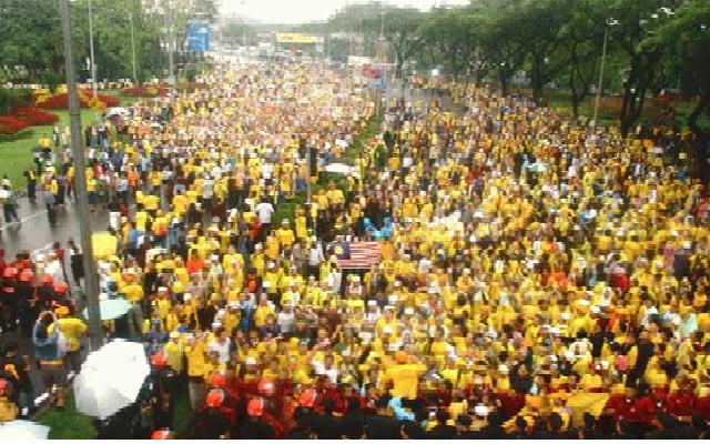 MALAYSIAN FIGHT FOR RIGHT