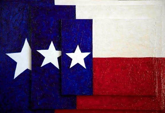 Jasper Johns Flag Texas