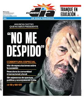 El Nuevo Día, publicado em San Juan, Porto Rico