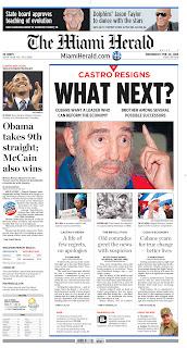 The Miami Herald, publicado em Miami, EUA