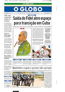 O Globo, publicado em Rio De Janeiro, Brasil