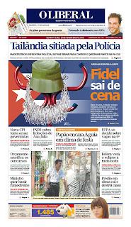 O Liberal, publicado em Belém, Brasil