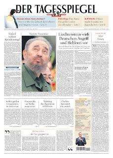 Der Tagesspiegel, publicado em Berlin, Alemanha