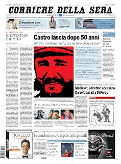 Corriere Della Sera, publicado em Milão, Itália