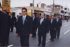 Desfile por Fiestas Patrias