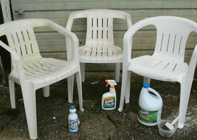 Cleaning Those Resin Chairs
