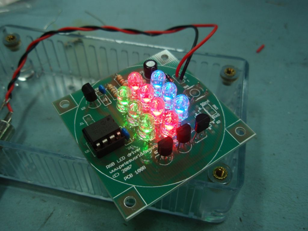 Rgb Circuit Using Mc1377