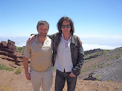 Jarre e seu amigo, o astrofísico Garik Israelian