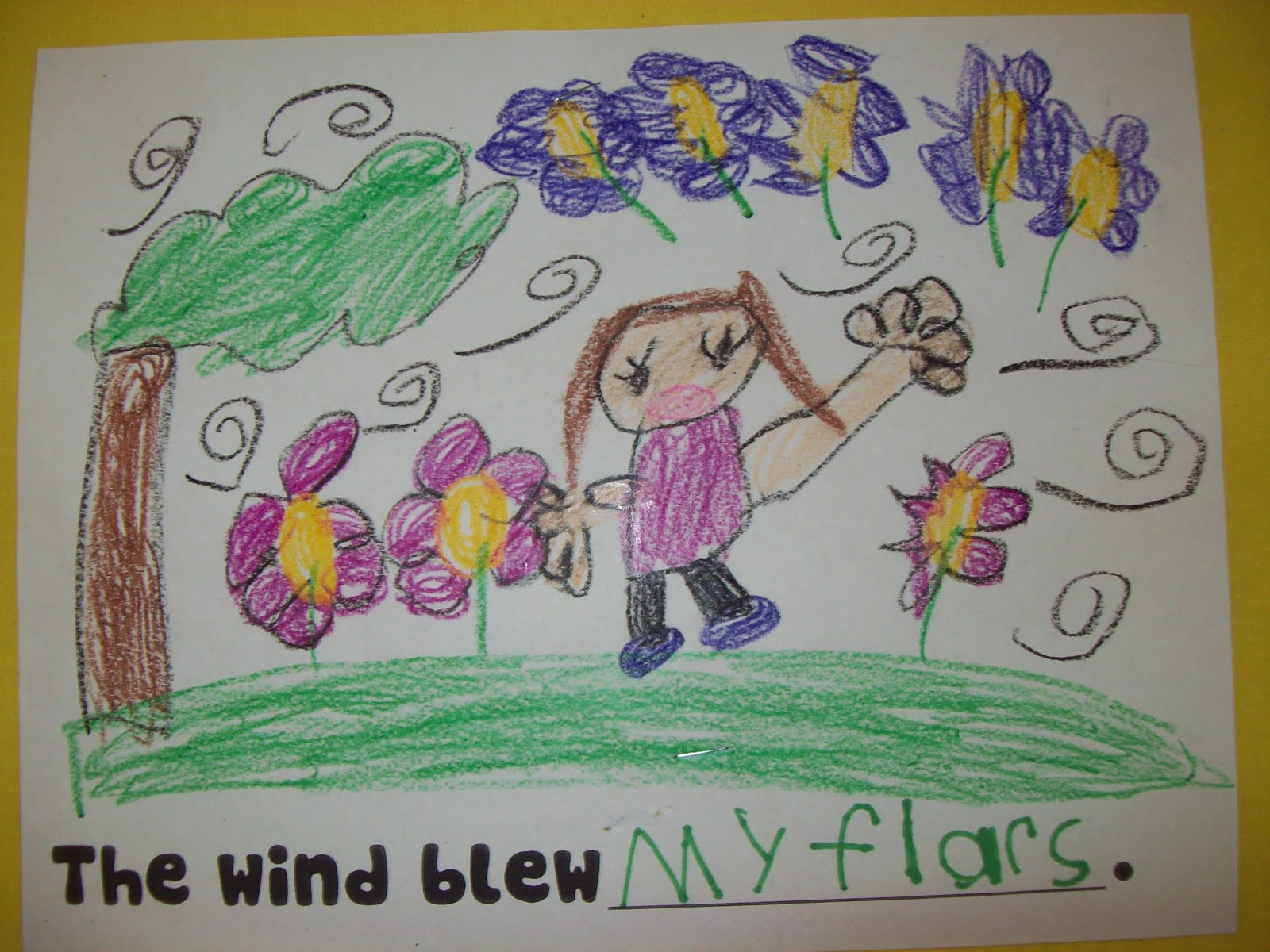 Kindergarten Chronicles A Kindergarten Blog The Wind Blew