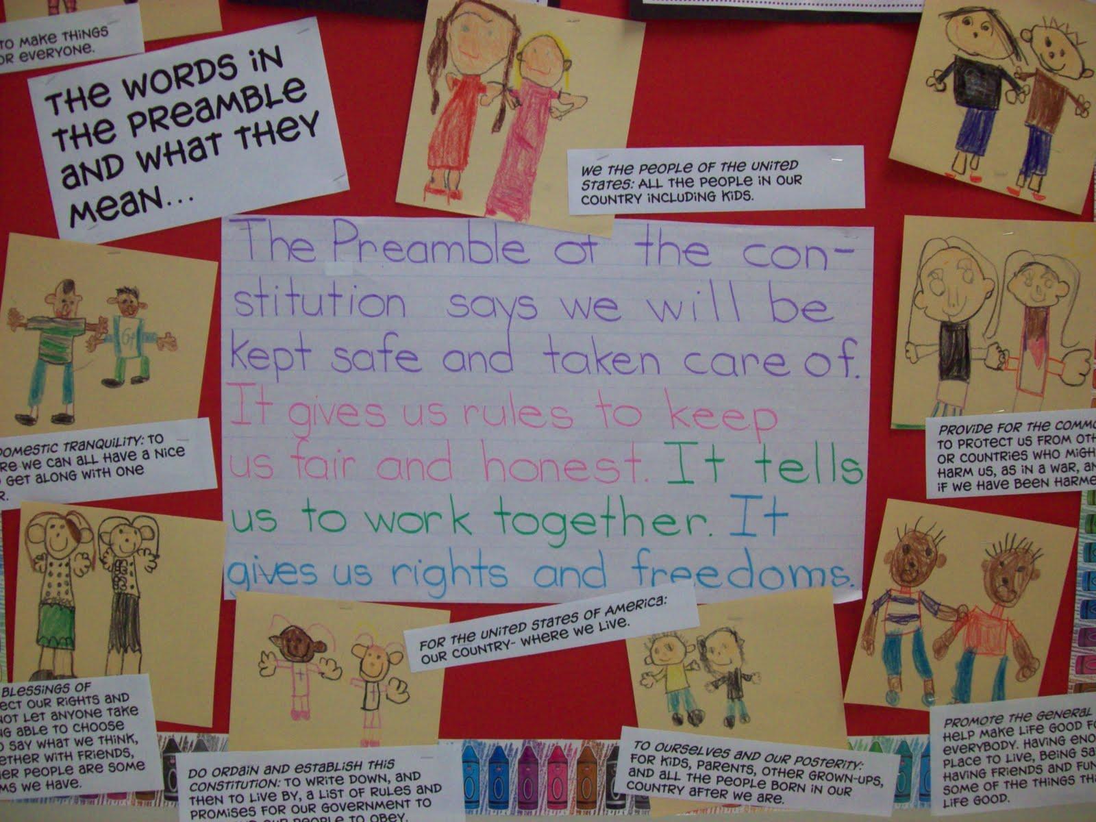 Chalk Talk A Kindergarten Blog Constitution Day