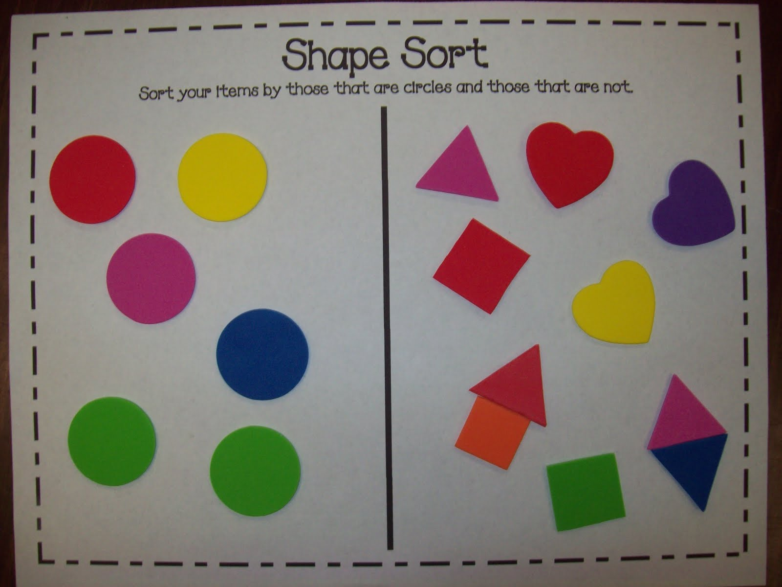 Chalk Talk: A Kindergarten Blog: Shapes That Roll