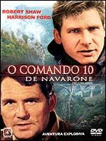Filme Poster Comando 10 de Navarone DVDRip RMVB Legendado