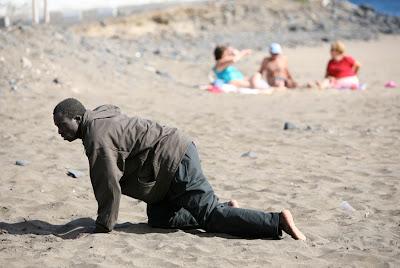 En primera línea de playa