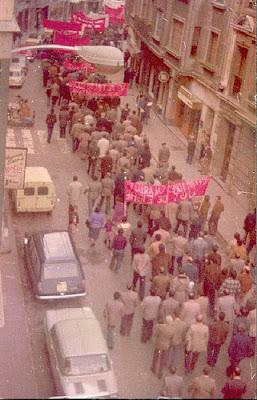 Manifestación del 1 de mayo de 1978