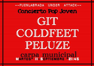 Concierto - Fiestas de Fuenlabrada 2007