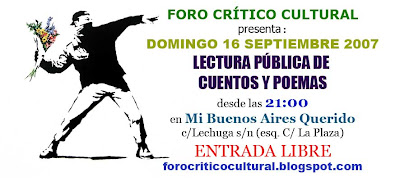 Foro Crítico Cultural - Septiembre 2007
