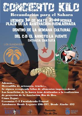 Concierto Kilo 2008 - Solidaridad con el Sáhara Occidental