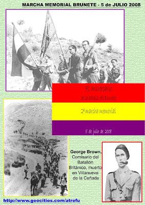71 Aniversario de la Batalla de Brunete - 4 y 5 de julio de 2008