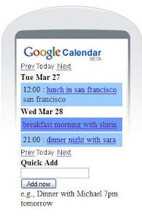 Mobile+Cal+image Google Calendar on Mobile Phones