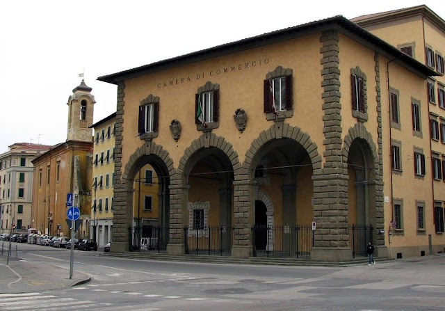 Chamber of Commerce building, Livorno