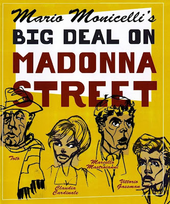 Big Deal on Madonna Street, poster