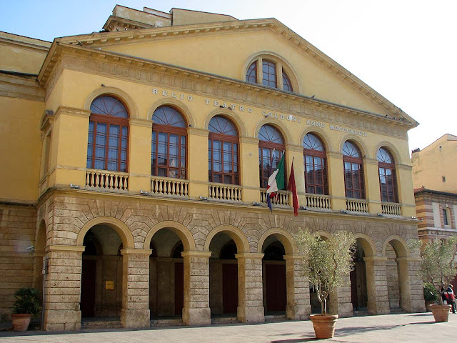 Goldoni Theater, Livorno