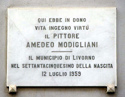 Amedeo Modigliani birth house, Livorno