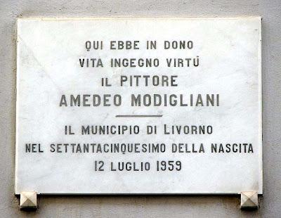 Amedeo Modigliani birth house, Livorno