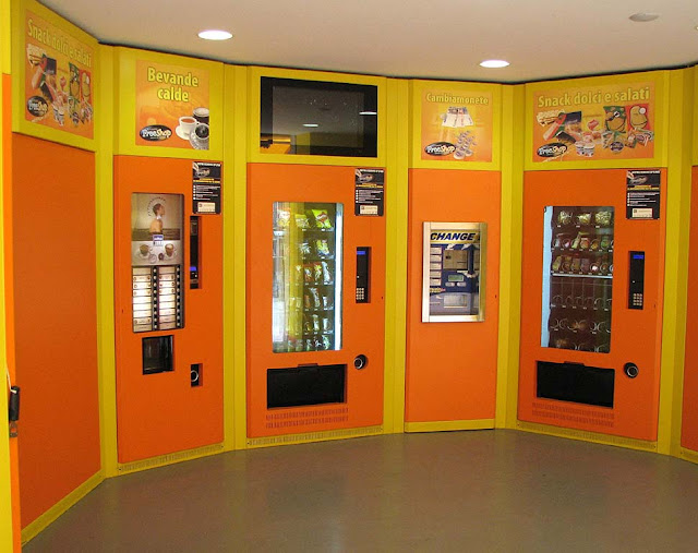 Automatic Free Shop, vending machines, Livorno