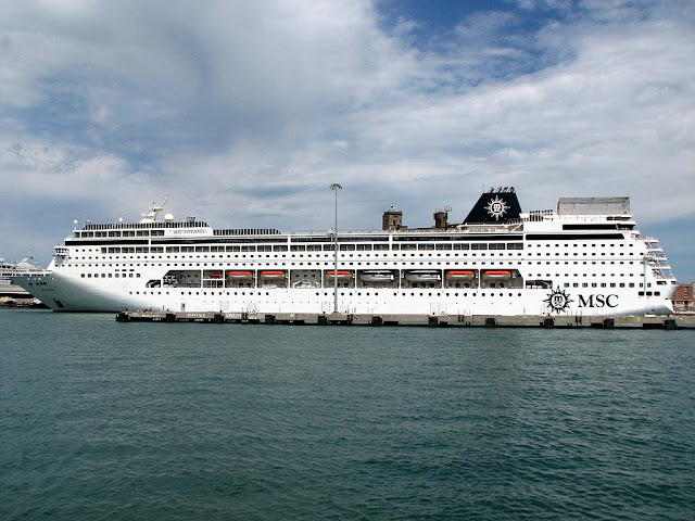 MSC Sinfonia, port of Livorno