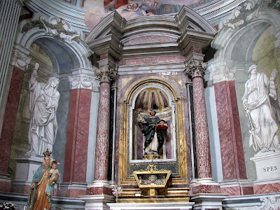 Inside Santa Caterina church, Livorno