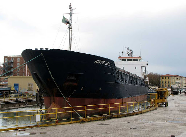 White Sea, IMO 9006291, port of Livorno