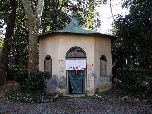 Park of Villa Maria, Livorno