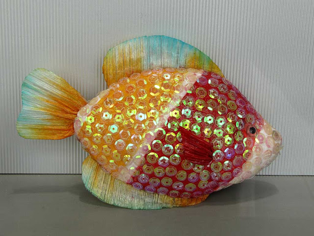 Fish in a shop window, via Ricasoli, Livorno