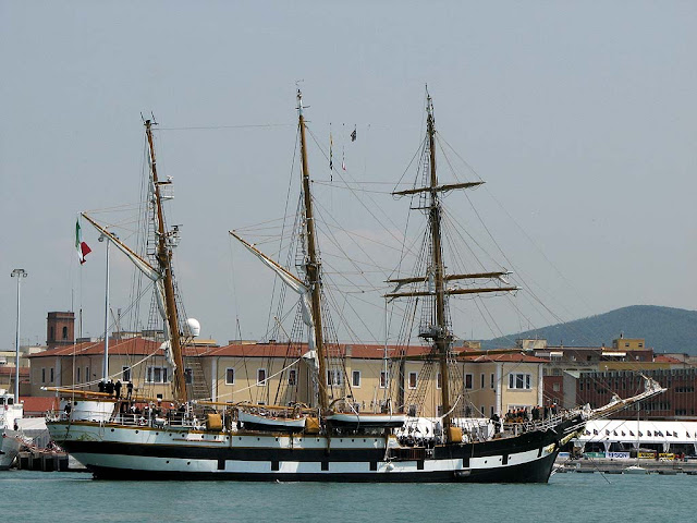 Palinuro training ship, Livorno