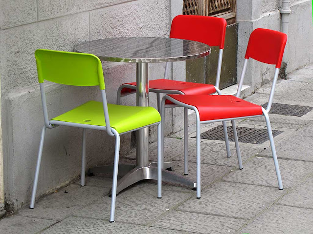 Chairs and table, Livorno