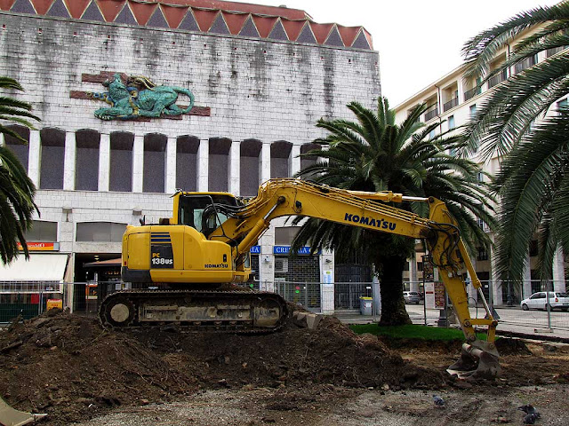 Works, Town Hall square, Livorno