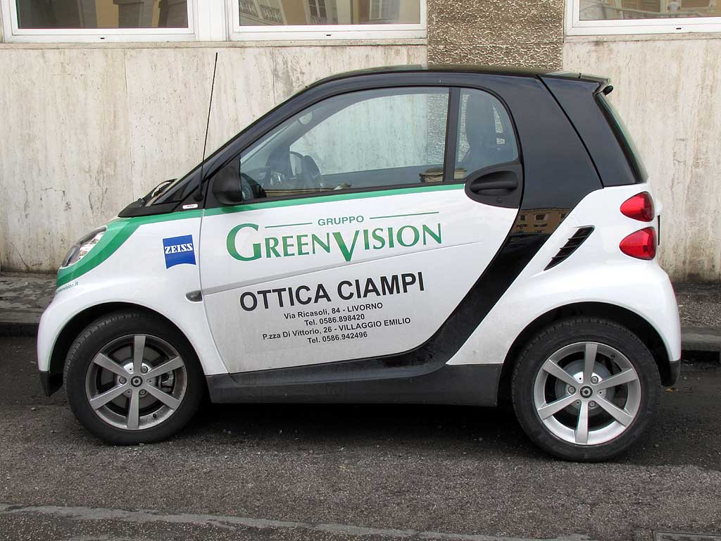 Greenvision Ciampi, Smart Fortwo, Livorno