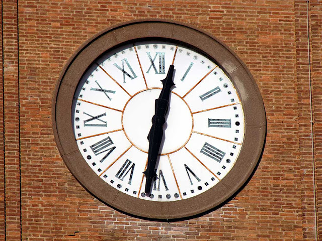 Clock, Cathedral, Livorno