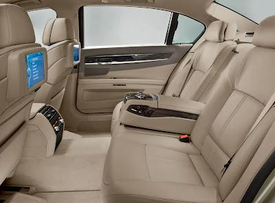 BMW 7 Series bancos