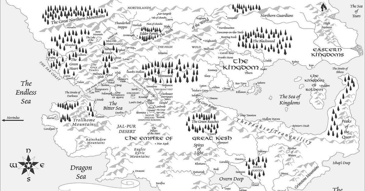 The Riftwar Cycle: Map of Midkemia